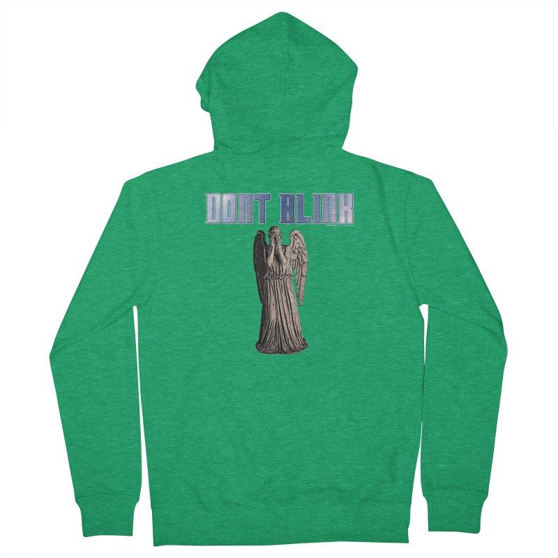 Dont Blink Men's Zip-Up Hoody by doombxny's Artist Shop