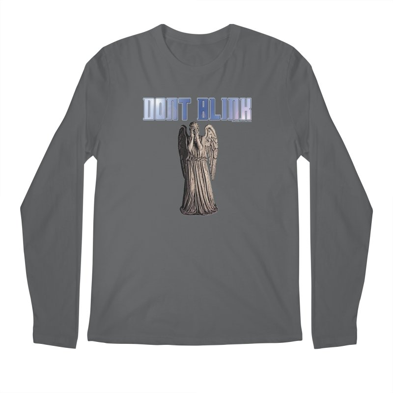 Dont Blink Men's Longsleeve T-Shirt by doombxny's Artist Shop