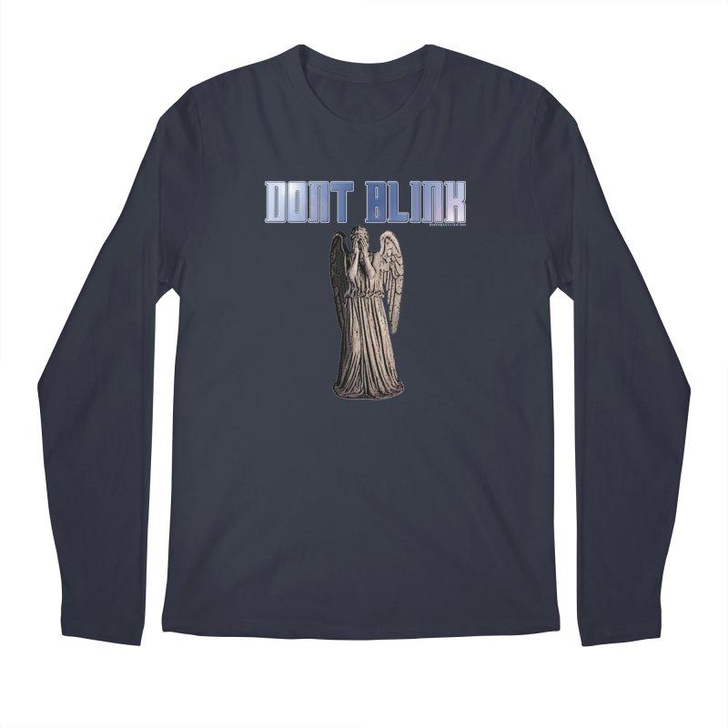 Dont Blink Men's Longsleeve T-Shirt by doombxny's Artist Shop