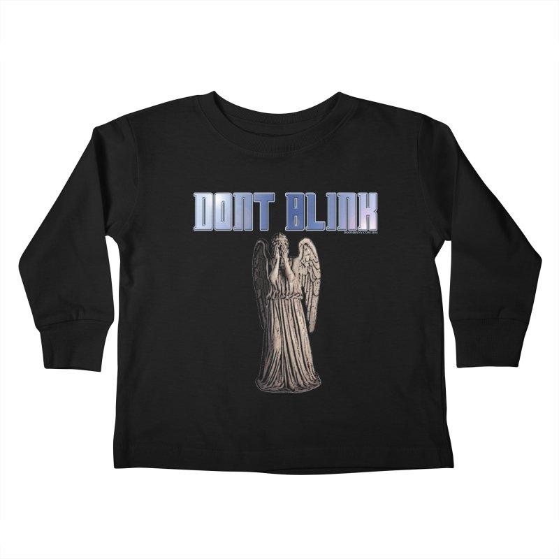 Dont Blink Kids Toddler Longsleeve T-Shirt by doombxny's Artist Shop