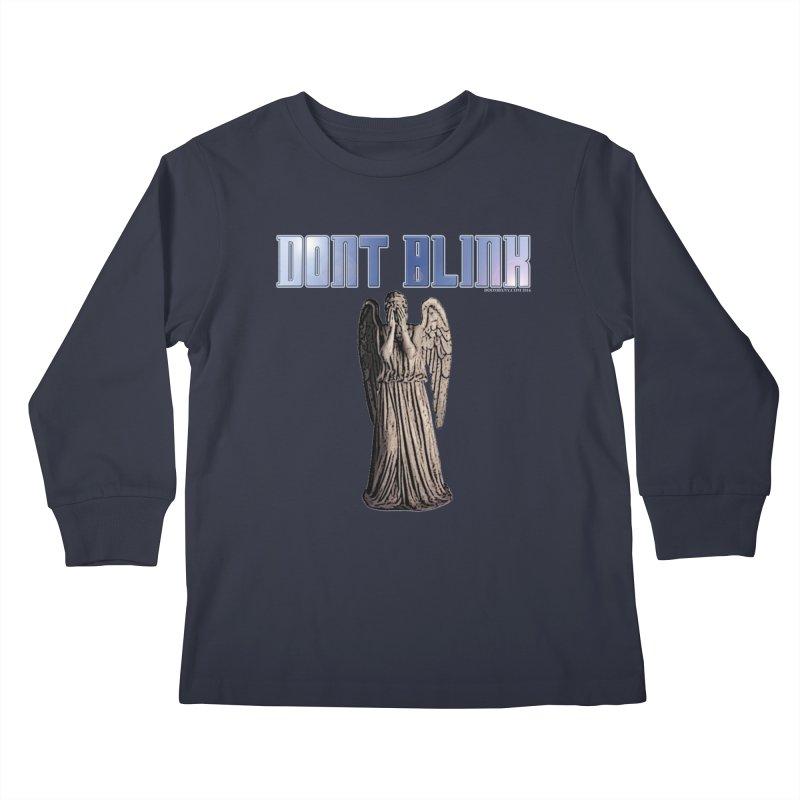 Dont Blink Kids Longsleeve T-Shirt by doombxny's Artist Shop