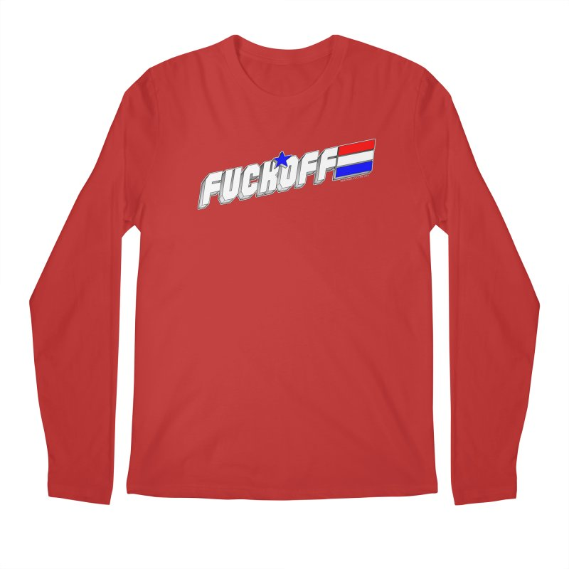 Fuck Off Men's Longsleeve T-Shirt by doombxny's Artist Shop