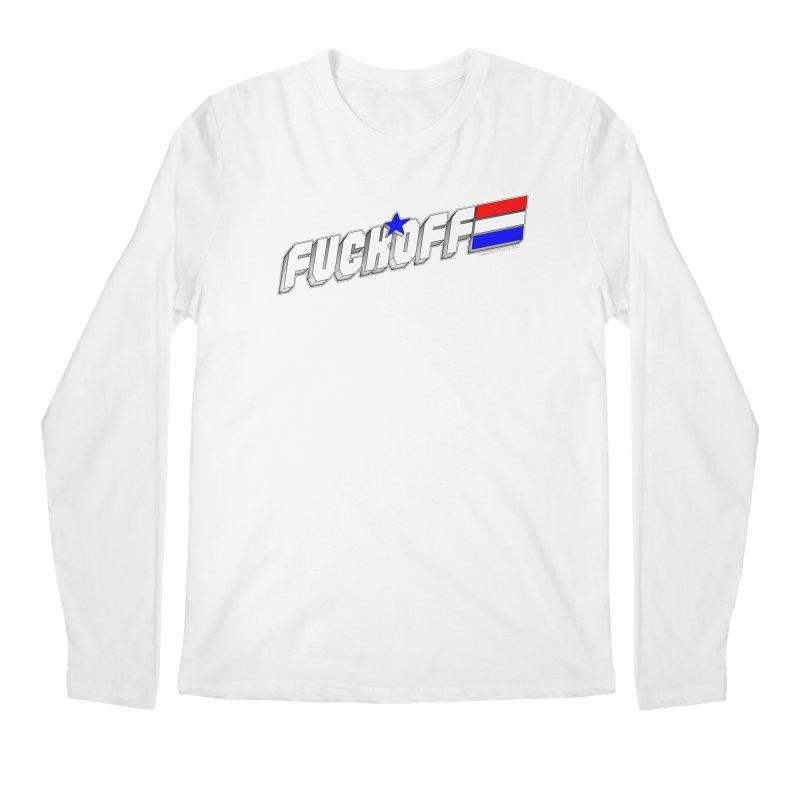 Fuck Off Men's Longsleeve T-Shirt by doombxny's Artist Shop