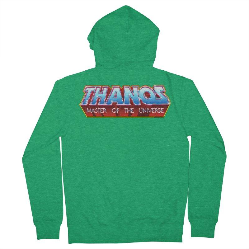 Thanos MOTU logo Men's Zip-Up Hoody by doombxny's Artist Shop