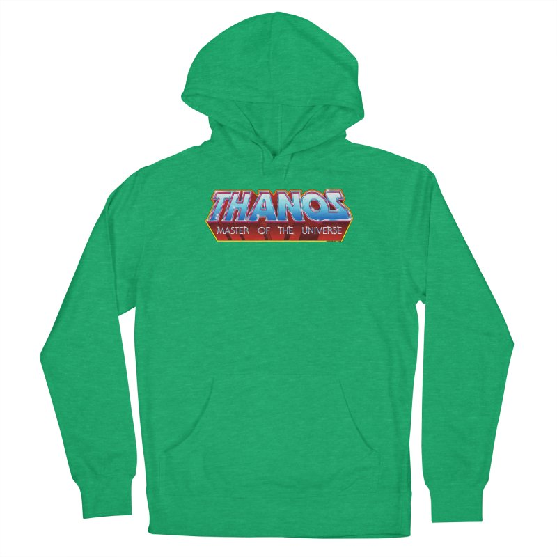 Thanos MOTU logo Men's French Terry Pullover Hoody by doombxny's Artist Shop