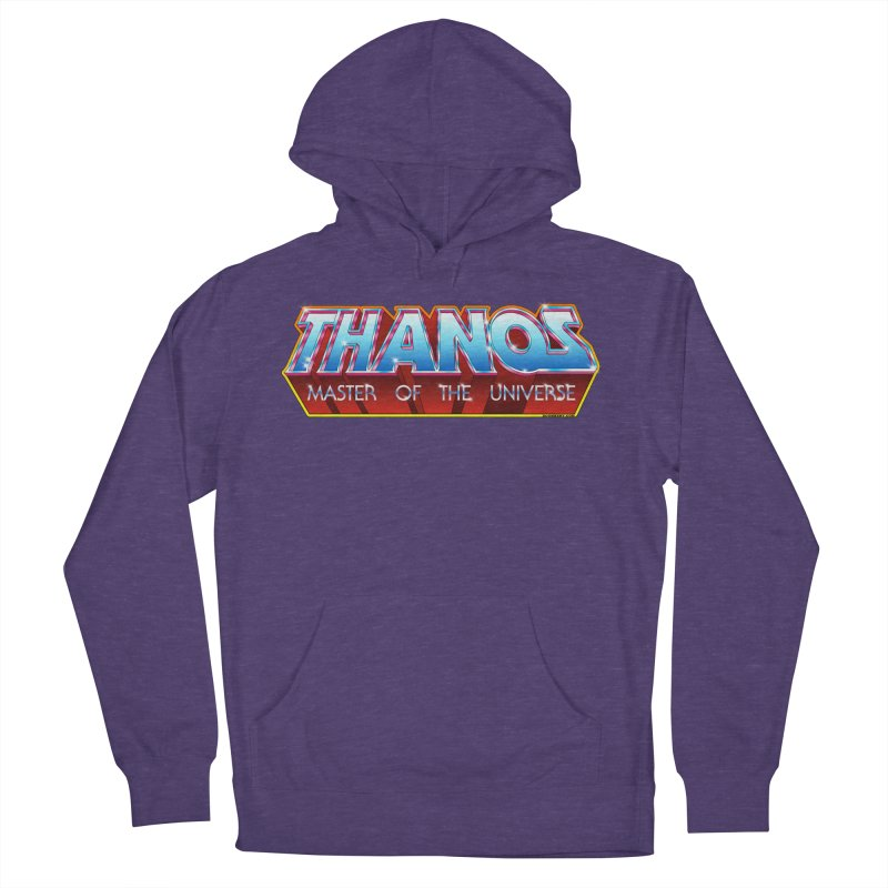 Thanos MOTU logo Women's French Terry Pullover Hoody by doombxny's Artist Shop