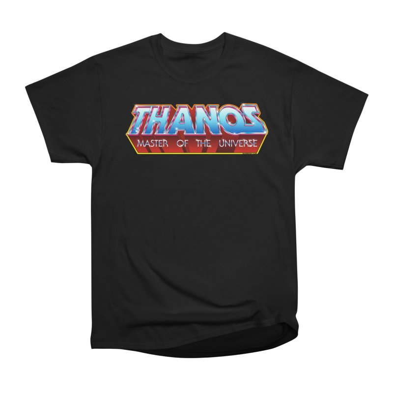 Thanos MOTU logo Women's Heavyweight Unisex T-Shirt by doombxny's Artist Shop
