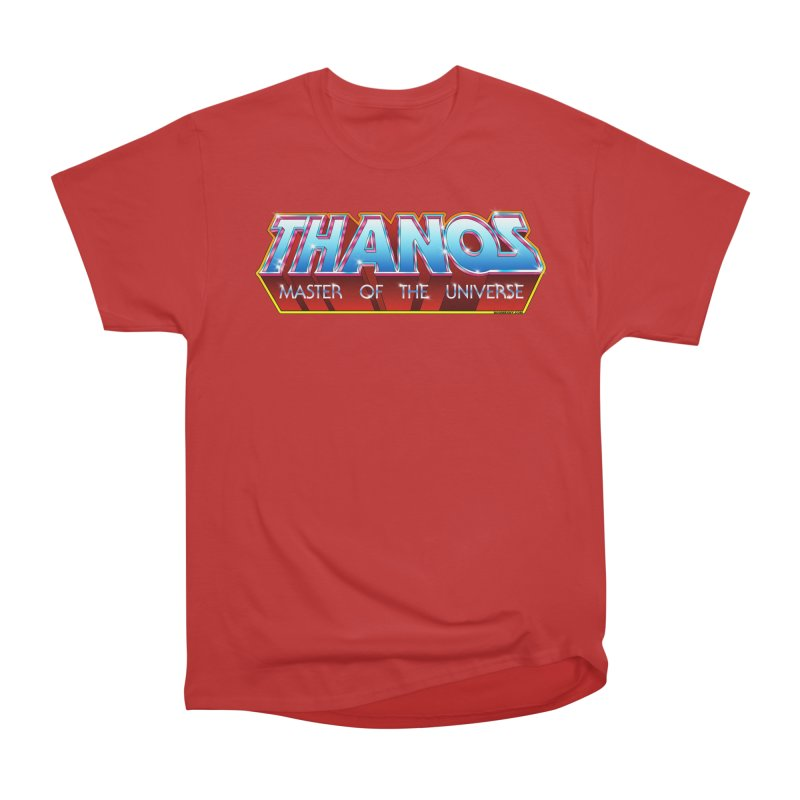 Thanos MOTU logo Women's Heavyweight Unisex T-Shirt by doombxny's Artist Shop