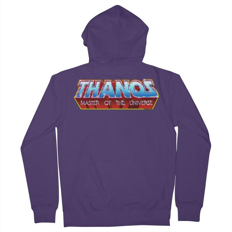 Thanos MOTU logo Women's French Terry Zip-Up Hoody by doombxny's Artist Shop