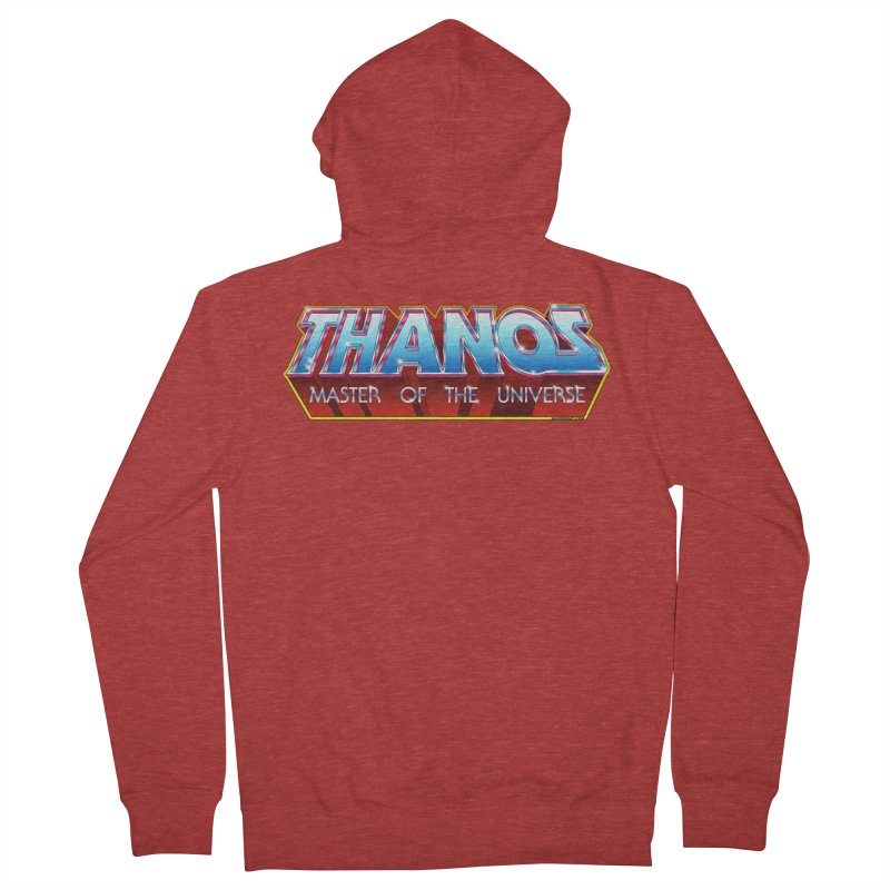 Thanos MOTU logo Men's French Terry Zip-Up Hoody by doombxny's Artist Shop