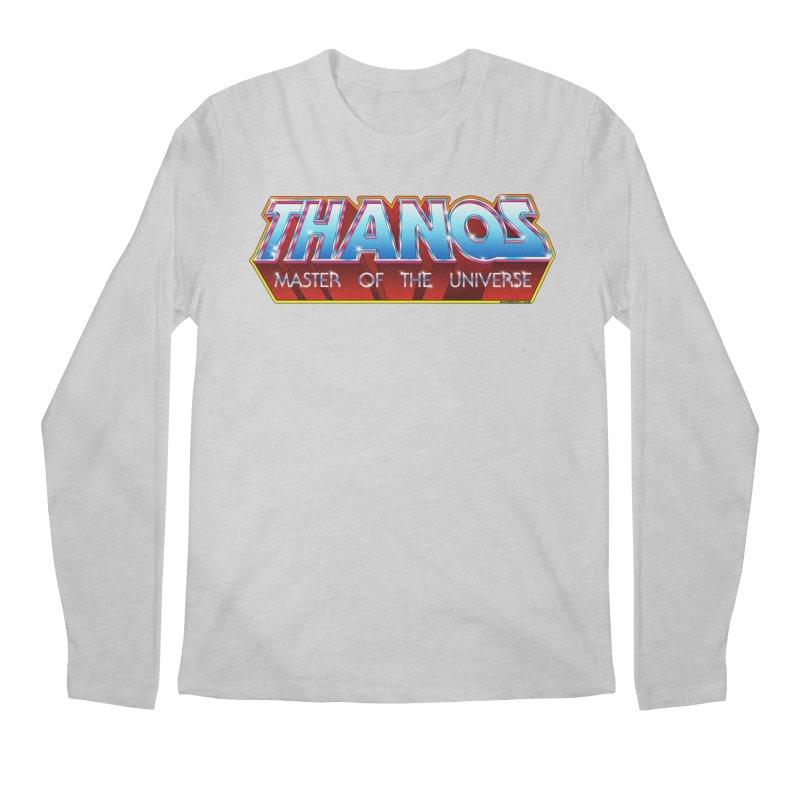Thanos MOTU logo Men's Regular Longsleeve T-Shirt by doombxny's Artist Shop