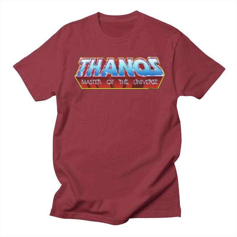 Thanos MOTU logo Men's T-Shirt by doombxny's Artist Shop