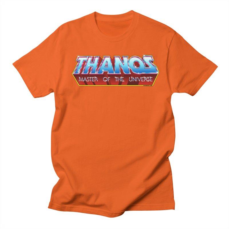 Thanos MOTU logo Women's Regular Unisex T-Shirt by doombxny's Artist Shop