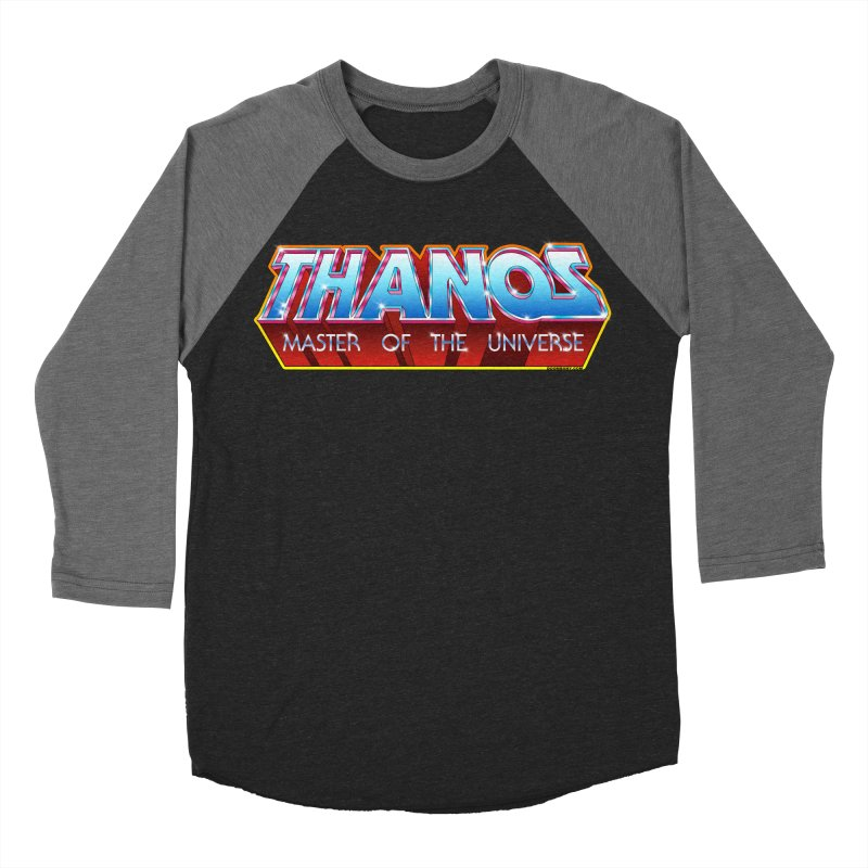 Thanos MOTU logo Women's Baseball Triblend T-Shirt by doombxny's Artist Shop