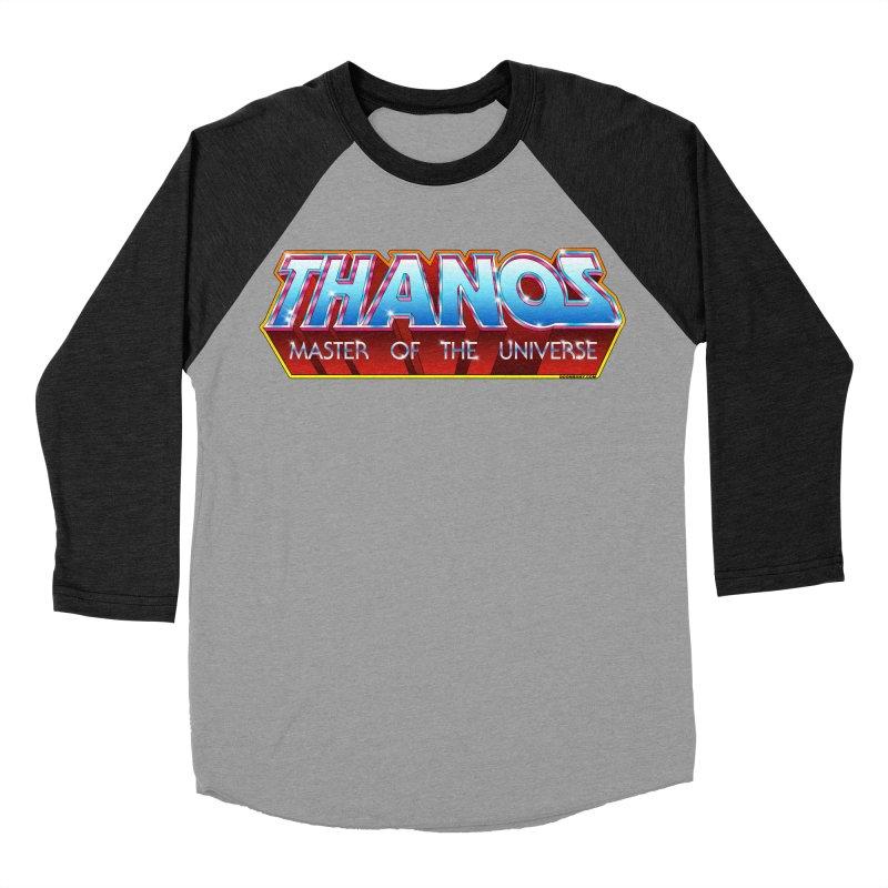 Thanos MOTU logo Women's Baseball Triblend Longsleeve T-Shirt by doombxny's Artist Shop