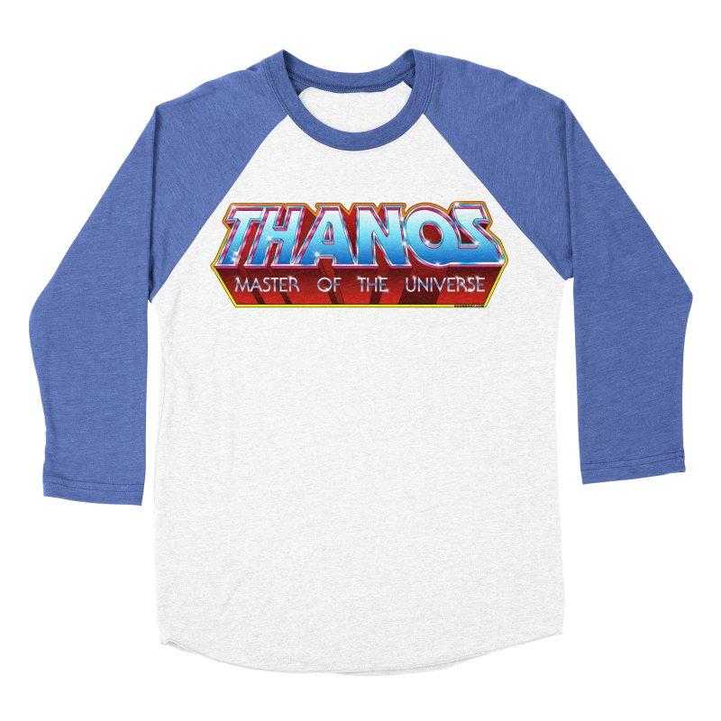Thanos MOTU logo Men's Baseball Triblend Longsleeve T-Shirt by doombxny's Artist Shop