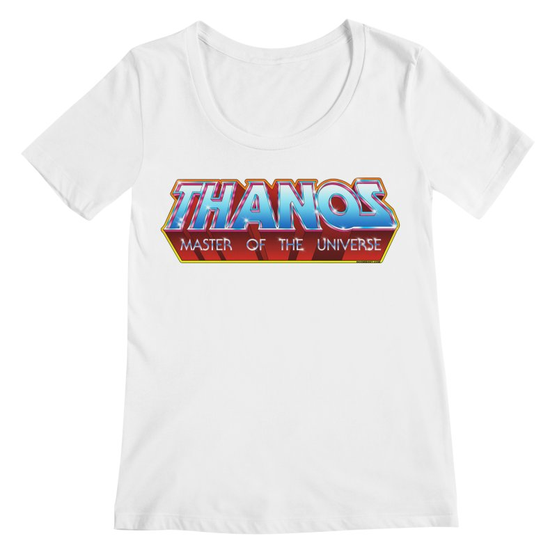 Thanos MOTU logo Women's Regular Scoop Neck by doombxny's Artist Shop