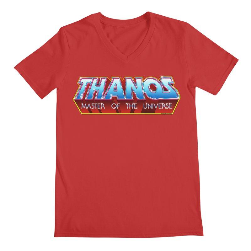 Thanos MOTU logo Men's Regular V-Neck by doombxny's Artist Shop