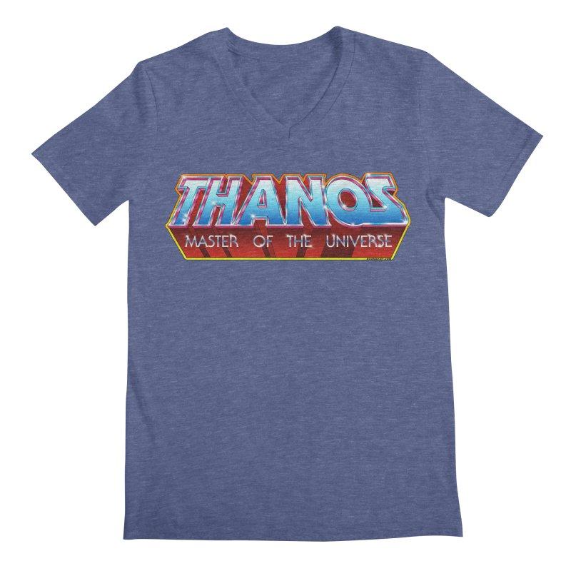 Thanos MOTU logo Men's V-Neck by doombxny's Artist Shop