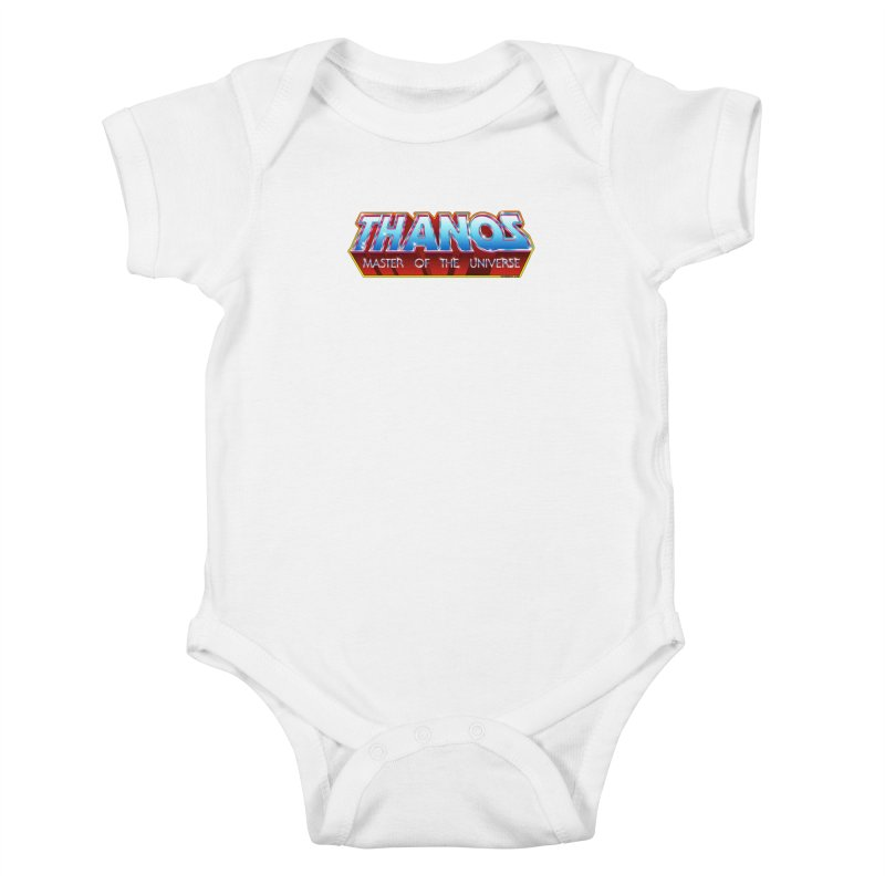 Thanos MOTU logo Kids Baby Bodysuit by doombxny's Artist Shop