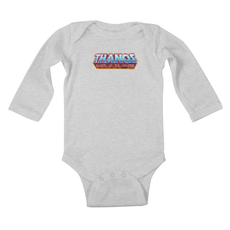 Thanos MOTU logo Kids Baby Longsleeve Bodysuit by doombxny's Artist Shop