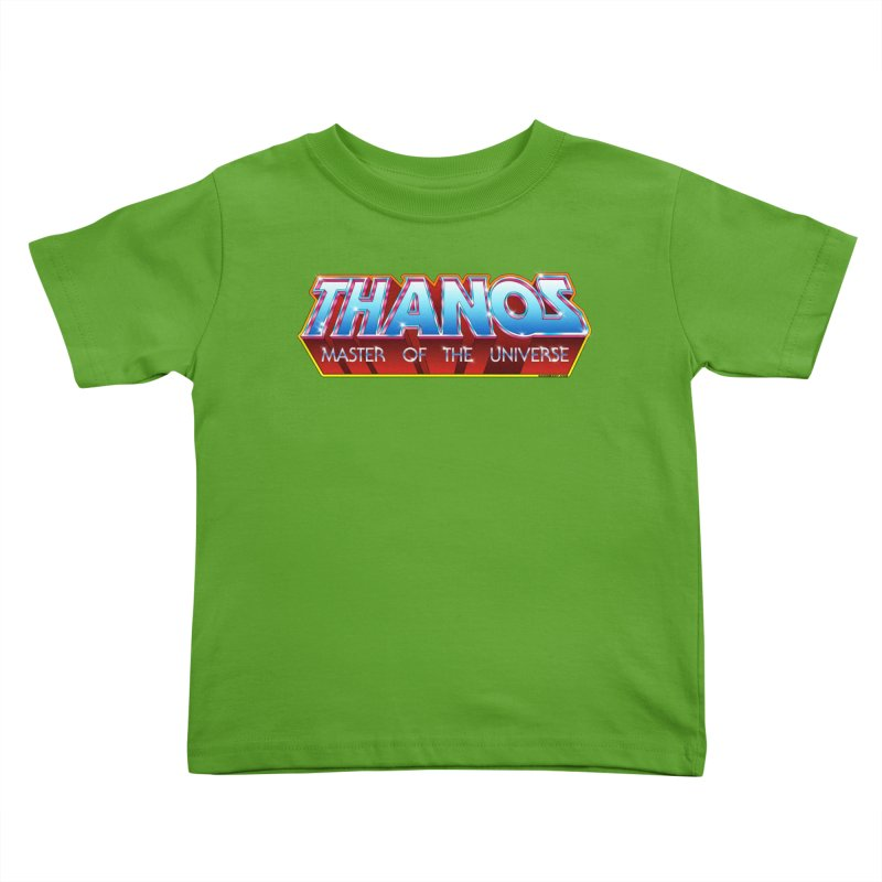 Thanos MOTU logo Kids Toddler T-Shirt by doombxny's Artist Shop
