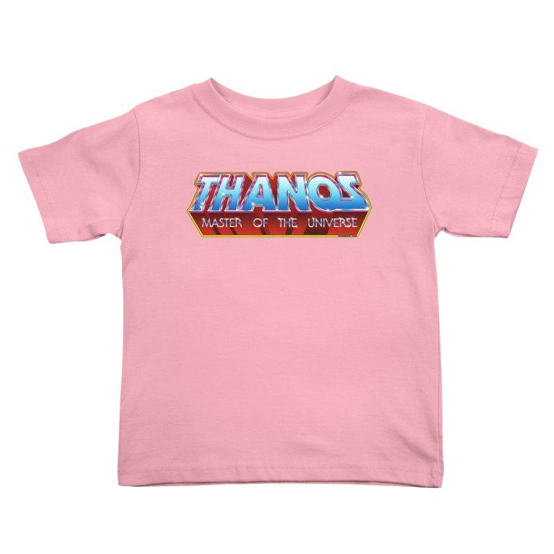 Thanos MOTU logo Kids Toddler T-Shirt by doombxny's Artist Shop