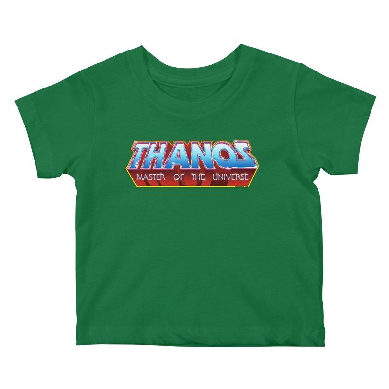 Thanos MOTU logo Kids Baby T-Shirt by doombxny's Artist Shop