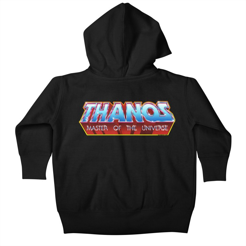 Thanos MOTU logo Kids Baby Zip-Up Hoody by doombxny's Artist Shop