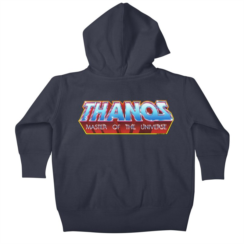 Thanos MOTU logo Kids Baby Zip-Up Hoody by doombxny's Artist Shop