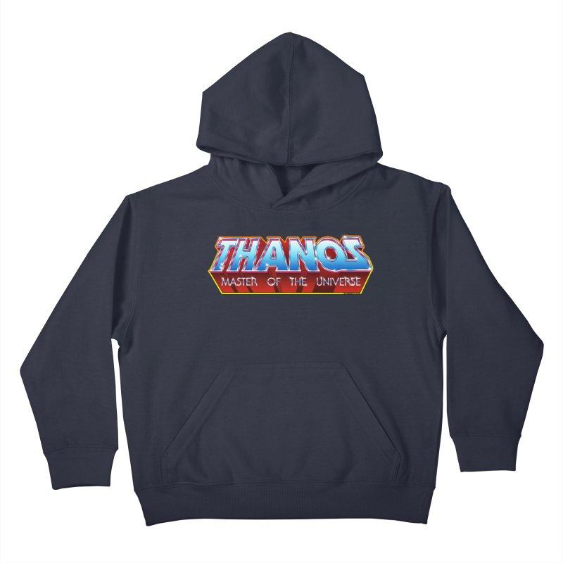 Thanos MOTU logo Kids Pullover Hoody by doombxny's Artist Shop