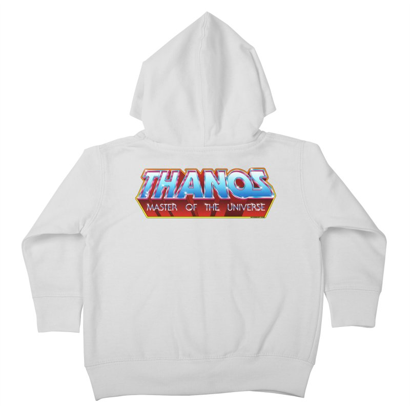 Thanos MOTU logo Kids Toddler Zip-Up Hoody by doombxny's Artist Shop