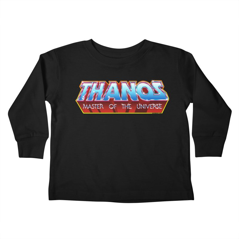 Thanos MOTU logo Kids Toddler Longsleeve T-Shirt by doombxny's Artist Shop