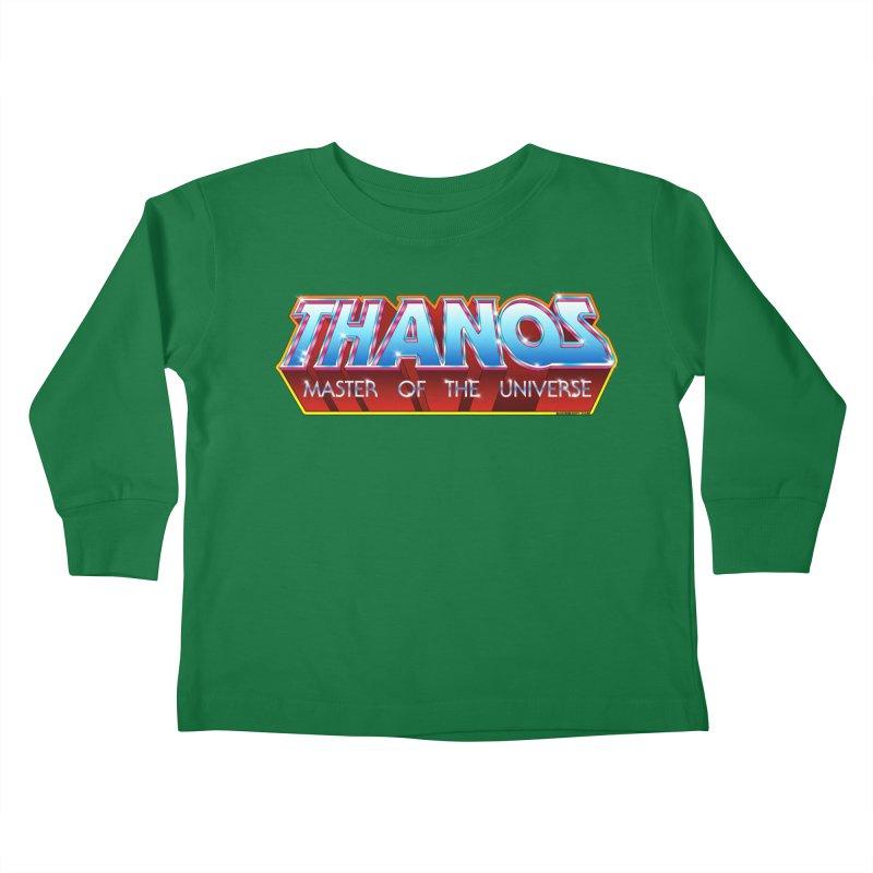 Thanos MOTU logo Kids Toddler Longsleeve T-Shirt by doombxny's Artist Shop