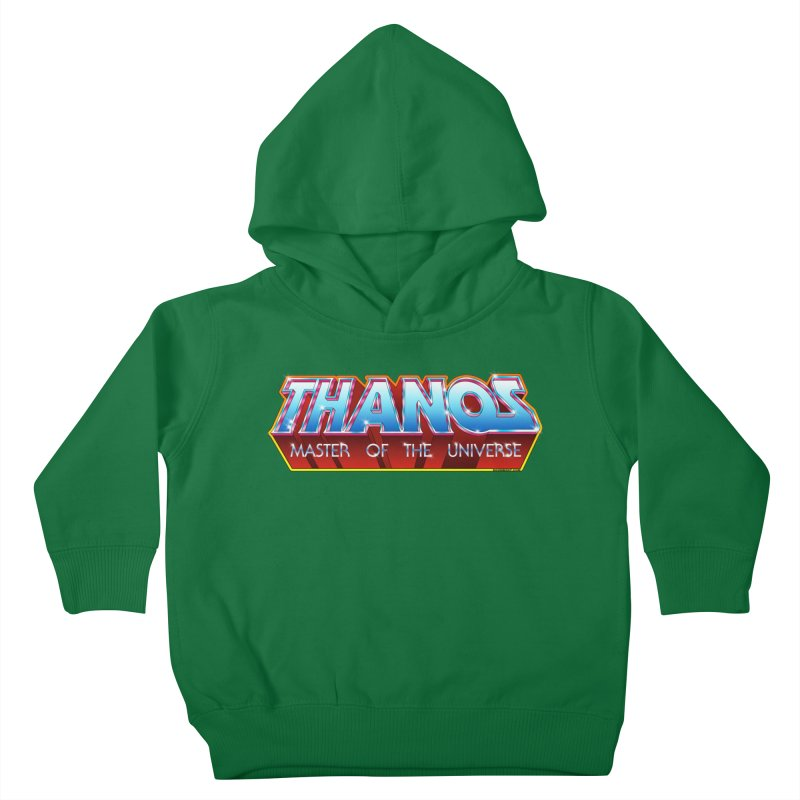 Thanos MOTU logo Kids Toddler Pullover Hoody by doombxny's Artist Shop