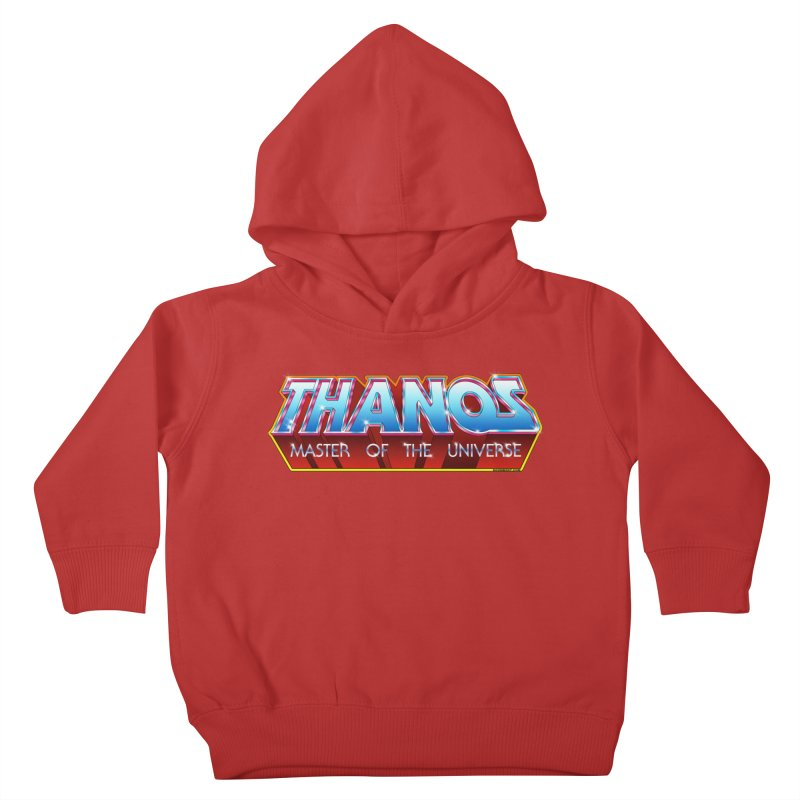 Thanos MOTU logo Kids Toddler Pullover Hoody by doombxny's Artist Shop
