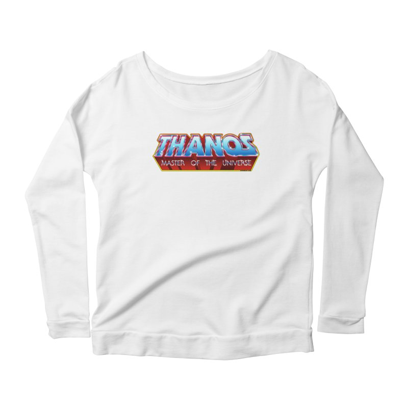 Thanos MOTU logo Women's Scoop Neck Longsleeve T-Shirt by doombxny's Artist Shop