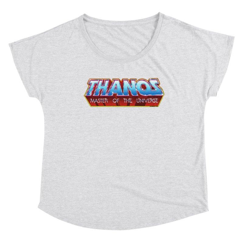 Thanos MOTU logo Women's Scoop Neck by doombxny's Artist Shop