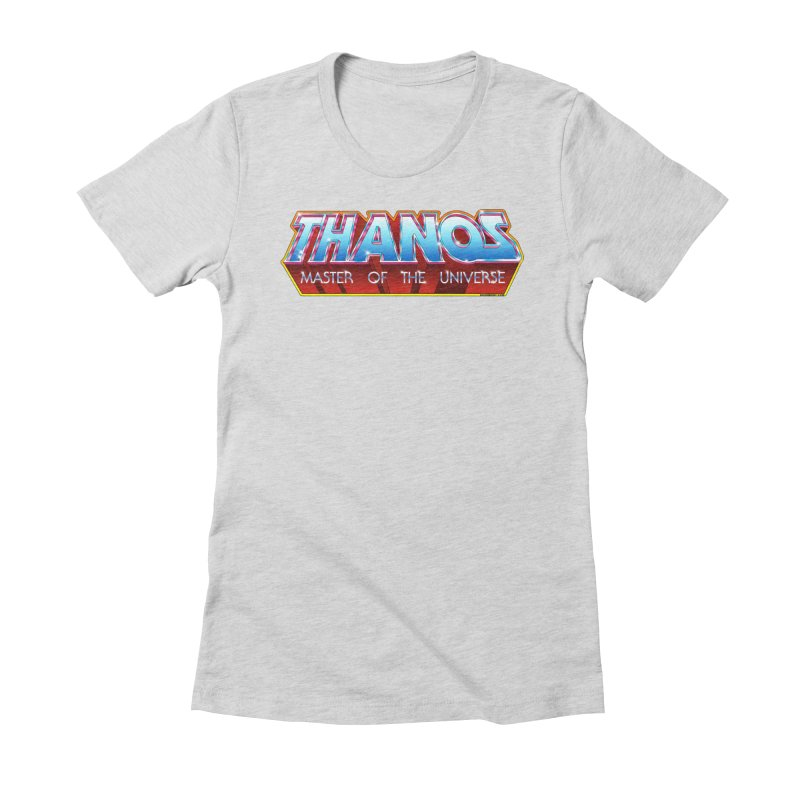 Thanos MOTU logo Women's Fitted T-Shirt by doombxny's Artist Shop