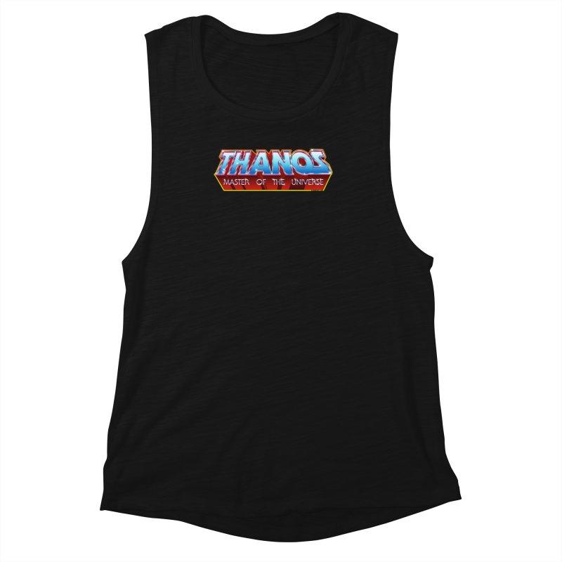 Thanos MOTU logo Women's Muscle Tank by doombxny's Artist Shop