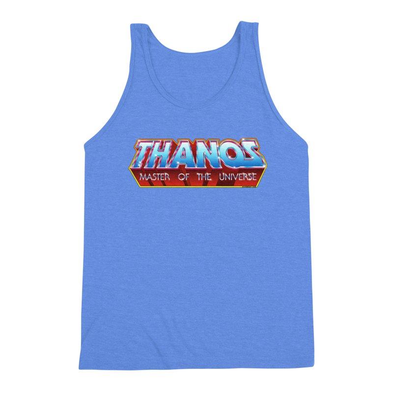 Thanos MOTU logo Men's Triblend Tank by doombxny's Artist Shop