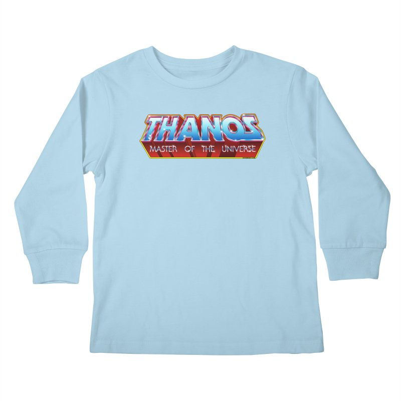 Thanos MOTU logo Kids Longsleeve T-Shirt by doombxny's Artist Shop