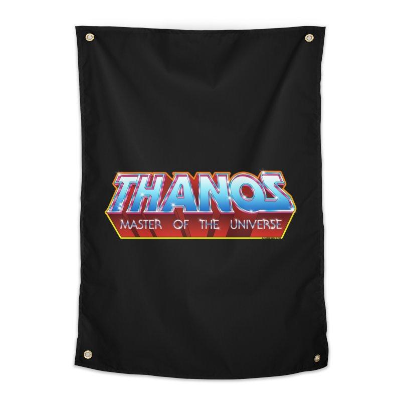 Thanos MOTU logo Home Tapestry by doombxny's Artist Shop
