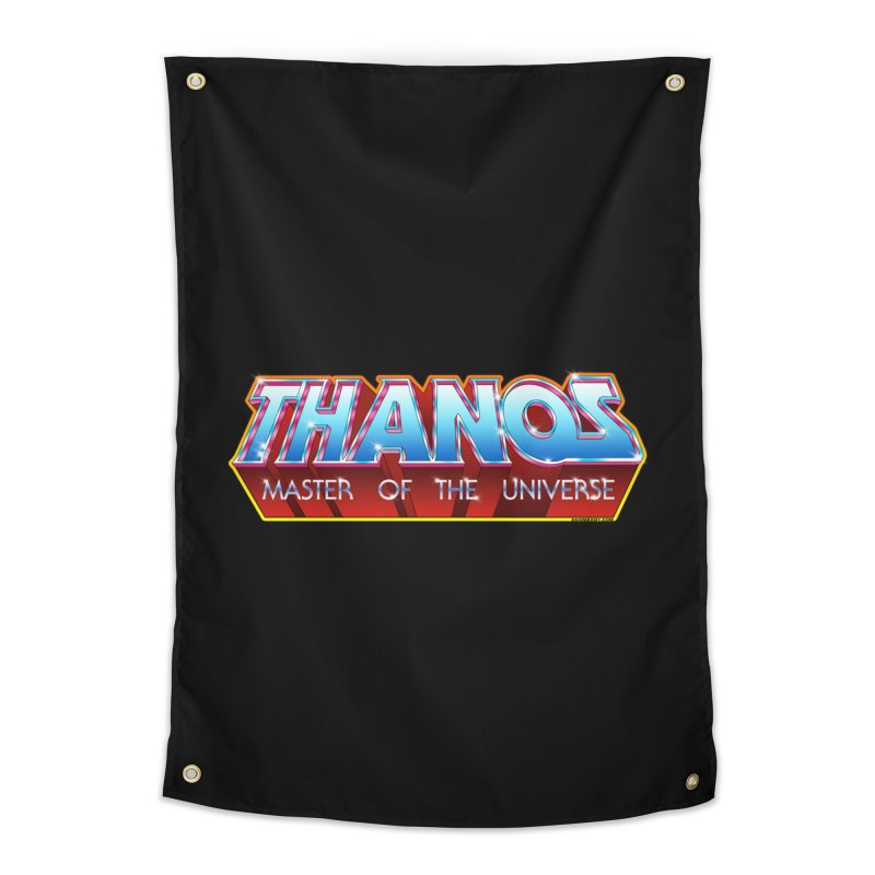 Thanos MOTU logo Home Tapestry by doombxny's Artist Shop
