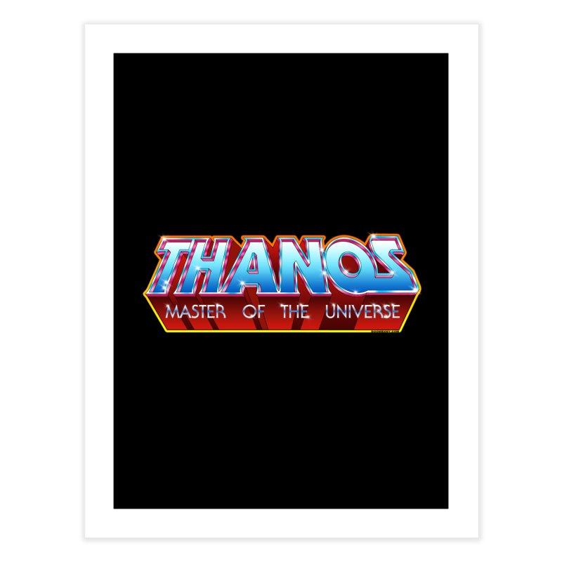 Thanos MOTU logo Home Fine Art Print by doombxny's Artist Shop
