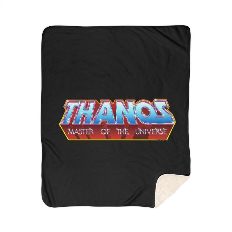 Thanos MOTU logo Home Sherpa Blanket Blanket by doombxny's Artist Shop
