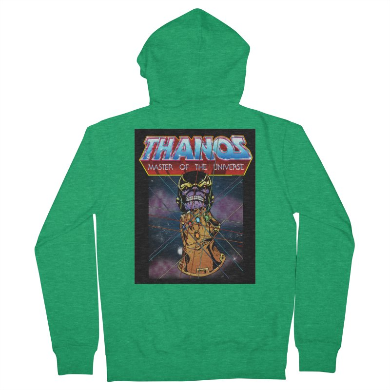 Thanos master of the universe Men's Zip-Up Hoody by doombxny's Artist Shop