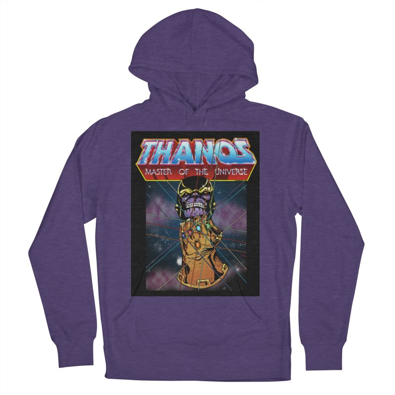 Thanos master of the universe Women's French Terry Pullover Hoody by doombxny's Artist Shop