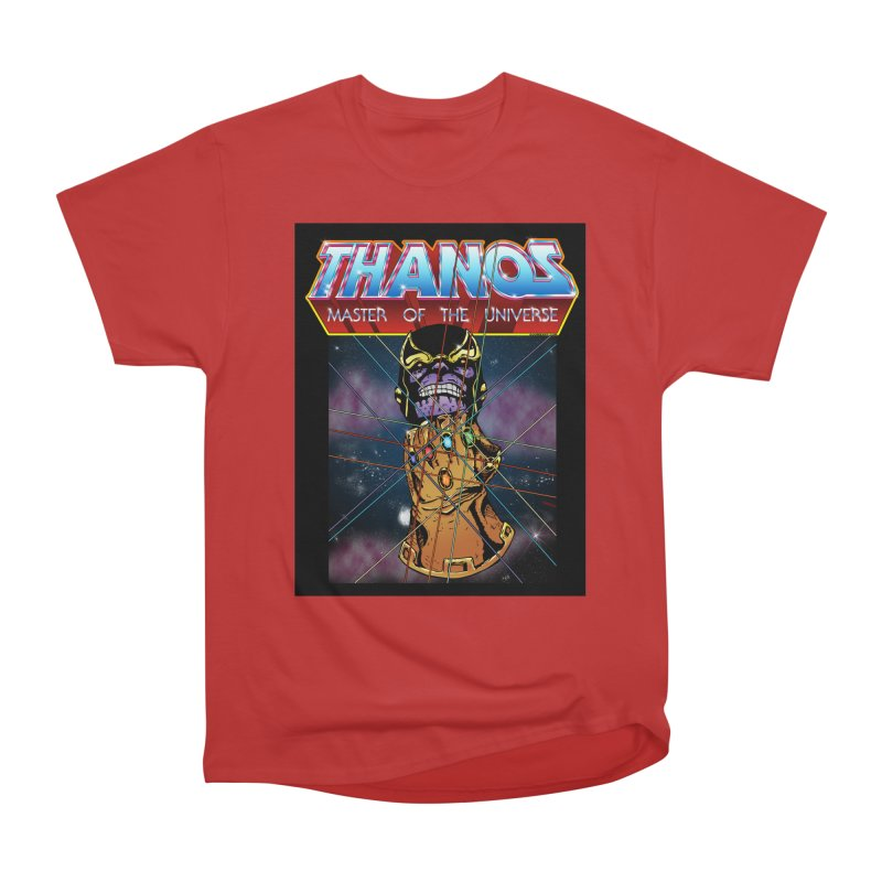 Thanos master of the universe Men's Heavyweight T-Shirt by doombxny's Artist Shop