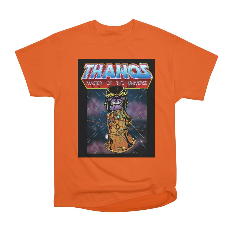 Thanos master of the universe Women's Heavyweight Unisex T-Shirt by doombxny's Artist Shop